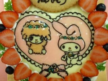 マイメロと羊.jpg
